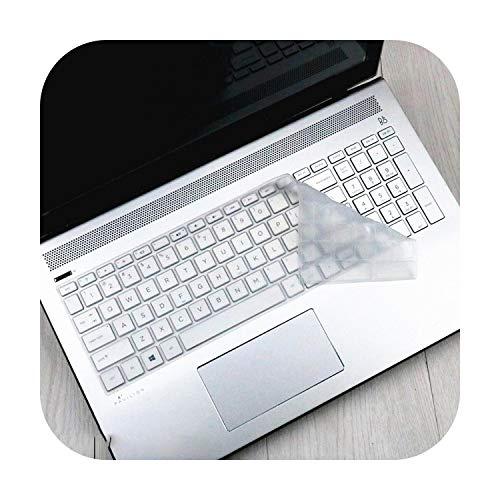 for HP Pavilion X360 15 BR001TX 15 BR104TX 15 BR106TX 15 BR082wm 15 BR080wm 101ne 15 15.6 Laptop Keyboard Cover Protector Skin-Clear-