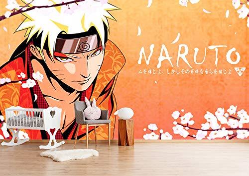 Blovsmile Uzumaki Naruto 3D Wall Tapete Wallpaper Poster Kids Room Living Decoration Mural-350 * 280