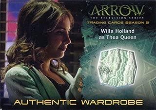 Arrow Season 2 Costume Card M17 Willa Holland as Thea Queen V1
