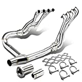 Replacement for Chevy Silverado/GMC Sierra GMT900 2-PC 8-2-1 Stainless Steel Exhaust...
