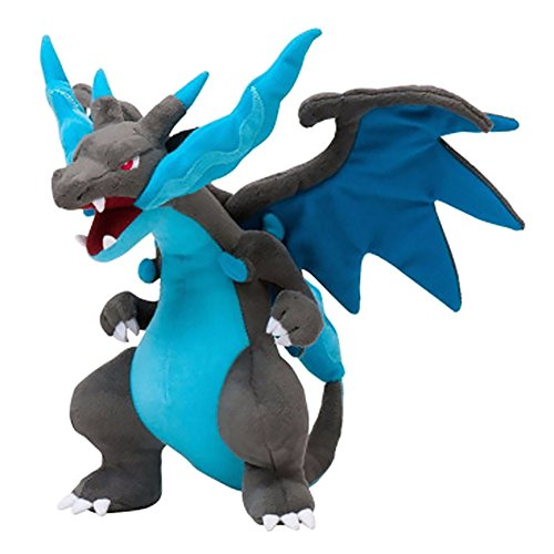 zhongjiany 9 aduanas Dragon Plüschpuppe Super Fire Dragon animales gefüllte Puppe juguetes para niños azul