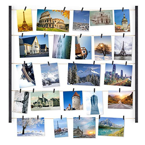 30 Picture Display Frame - 3 Colors