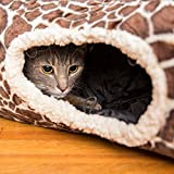 Easyology Premium Cat Tunnel - Interactive Cat Tube Toy with Crinkle...