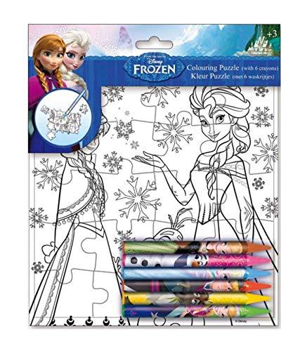 Puzzle + pinturas Frozen Disney