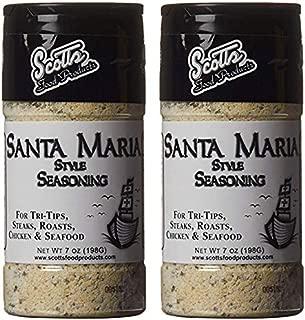 Scott's, Santa Maria Style Seasoning, 7 oz (Pack of 2)