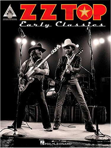 ZZ Top: Early Classics - Guitar Recorded Versions. Partitions pour Tablature Guitare(Symboles d\'Accords)