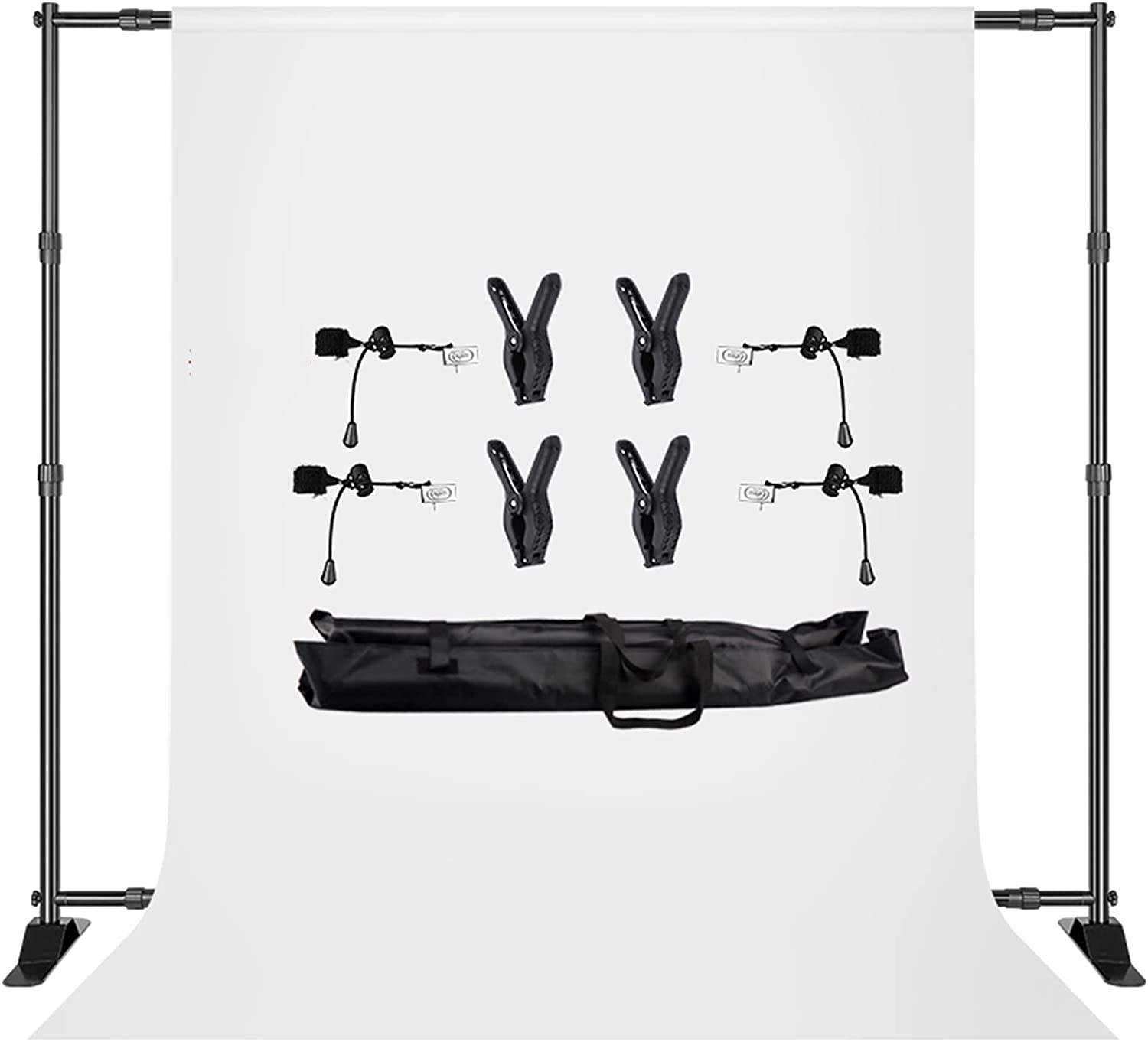 YYFANGYF Photo Video Studio Background Special price Rapid rise Stand 2.7x3m Kit Double-