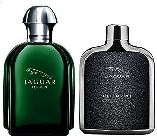 Jaguar For Men and Classic Chromite Pefumes, Set of 2 - Eau de Toilette 100 ml, Eau de Toilette, 100ml