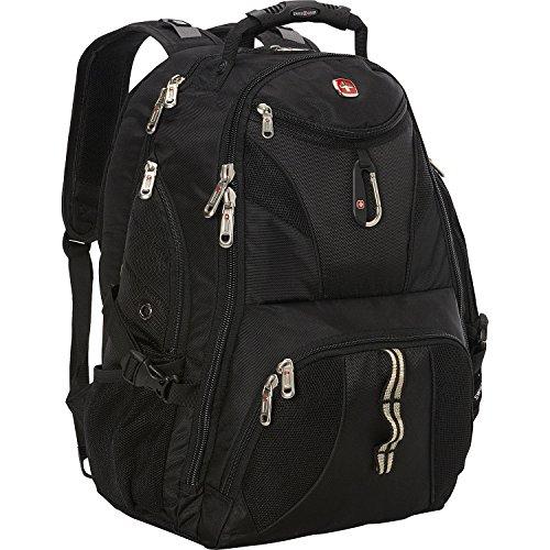 SwissGear Travel Gear ScanSmart Backpack 1900 (Black, 18-Inch)