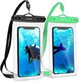 AceWay Waterproof Phone Case 2 Pack IPX8 Phone Pouch