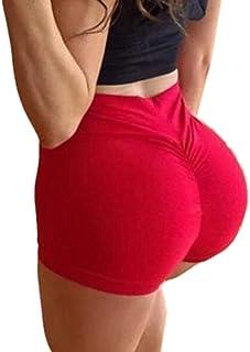 GAGA Women Yoga Shorts Sport Gym Shorts Butt Lifting Hot Pants