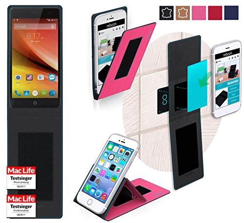 reboon Hülle für Elephone Trunk Tasche Cover Case Bumper | Pink | Testsieger