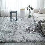 Sala de estar felpa alfombra mullida alfombra mesa alfombra cama estilo nórdico polvo rosa antideslizante piso