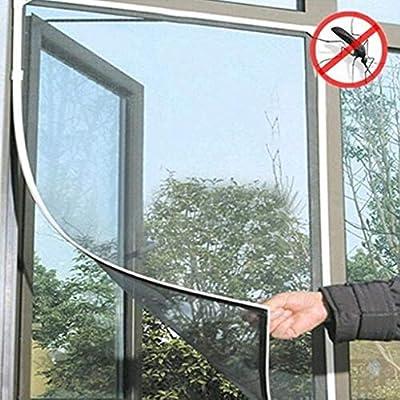 LANGMAN Fliegengitter Fenster 130 cm X 150 cm |...