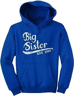 Big Sister Est 2020 - Sibling Gift Idea Youth Hoodie
