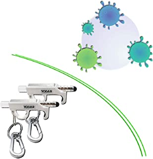 多機能抗菌消毒ドアオープナー ウイルス対策 公共の場所の二次接触を防止 液体詰め替え容器 白い