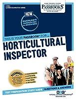 Horticultural Inspector (Career Examination)