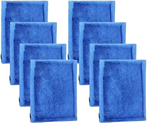 FGHO Cartucho de filtro de acuario, 3 cartuchos de filtro de acuario, compatible con Aqua-Tech EZ-Change 3 filtros de acuario – se ajustan a Aqua-Tech 20-40 y 30-60 Power Filters (8 unidades)