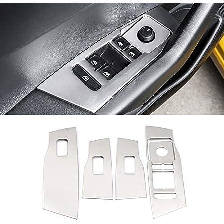 High Flying Interieur Türverkleidungen Dekor Edelstahl Silber Für Polo 6 Vi Mk6 2018 2019 2020 5 Stück Auto