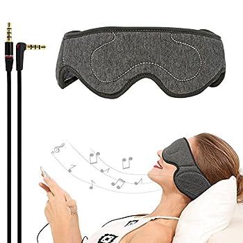 e53351d2daa ACOTop Bluetooth Sleep Eye Mask with Wireless Headphones