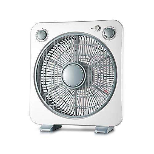 Escritorio Ventilador, Mesa de escritorio de enfriamiento silencioso ventilador de tres velocidades de funcionamiento ajustable, 1 Hora Temporizador for la seguridad del recorrido que acampa 220V50W