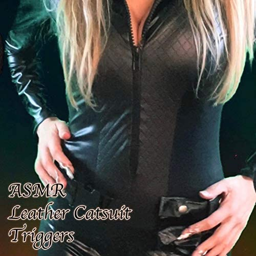 ASMR Leather Catsuit Triggers Pt 1 product image