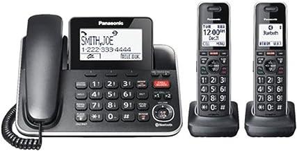 $82 » Panasonic KX-TGF882B Talking Caller ID Call Waiting Answering System Expandable Upto 6 Handsets Bluetooth - 3 Handset Cord...