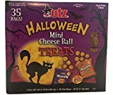 Utz Mini Cheese Balls Snack Size Treats 35 Bags Individually Wrapped .25 Ounce per Bag Gluten-Free