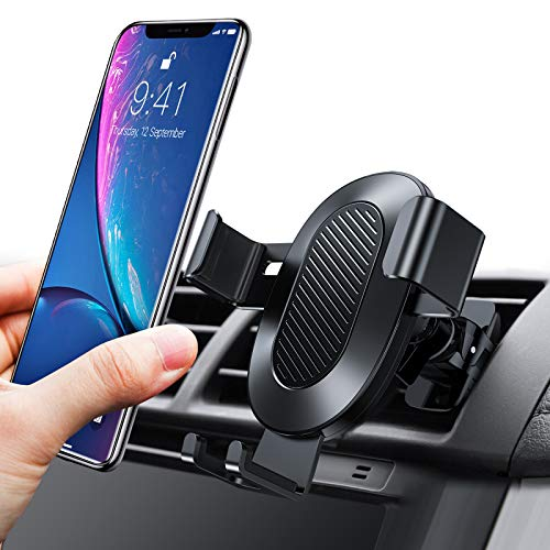 TORRAS Cell Phone Holder for Car, Auto-Clamping Air Vent Car Mount Holder Cradle Compatible for iPhone 11 Pro Max/Xs Max/XR/X / 8 Plus / 7 Plus, Galaxy Note 10 / S10 / S10+ / S9 / S9+ and More