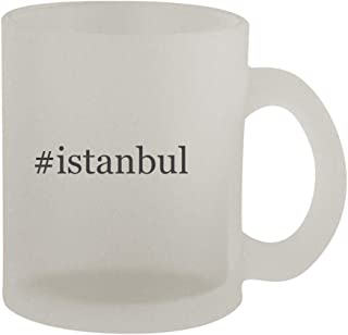 #istanbul - 10oz Hashtag Frosted Coffee Mug Cup, Frosted