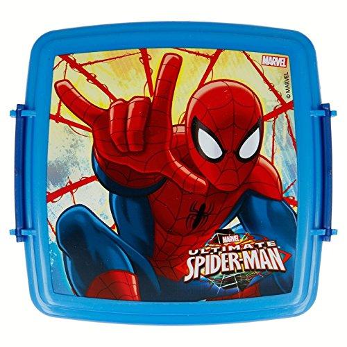 Appareil à croque-monsieur double clip Spiderman Red Webs