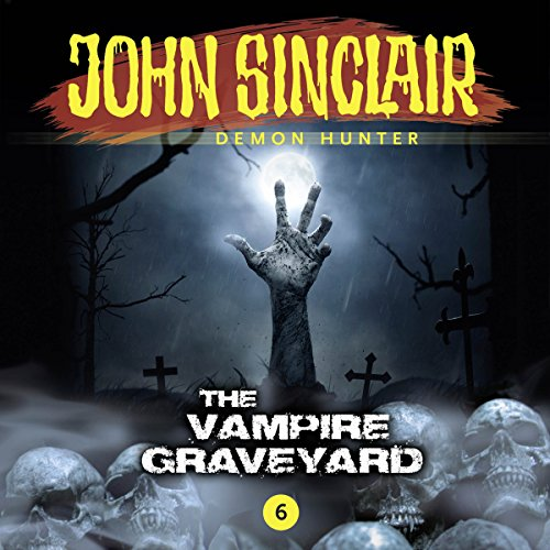 The Vampire Graveyard audiobook cover art