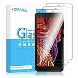 GEEMEE Protector de Pantalla para Samsung Galaxy Xcover 5, Cristal Templado Película Vidrio Templado 9H Alta Definicion Glass Screen Protector Film (Transparente)-3 Pack