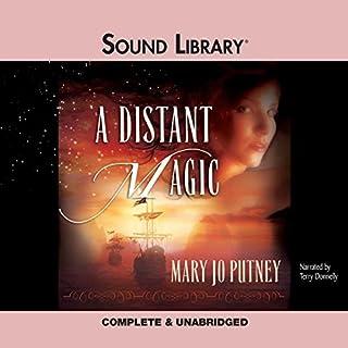 A Distant Magic audiobook cover art