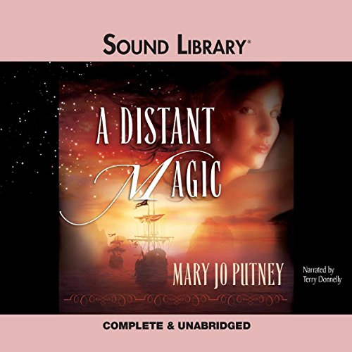 A Distant Magic audiobook cover art