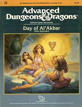 I9 Day of Al'Akbar - Book  of the Advanced Dungeons and Dragons Module #C4