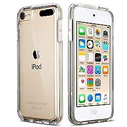 top rated ULAK Soft TPU Bumper PC Back Hybrid Case for iPod Touch 6 / iPod Touch 5 / iPod Touch 7 – Retail… 2021