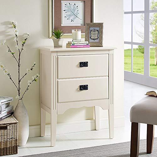 Home Beistelltische Nordic Massivholz Kreative Nachttisch Möbel Japanischen Stil Einfachen Holztisch Kleinen Couchtisch Computer Ecktisch, BOSS LV, Milchig