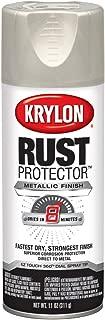 Krylon K06930300 Rust Protector Metallic Paint, Satin Nickel