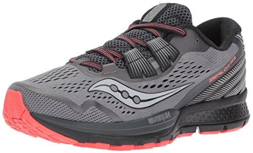Saucony Women's Zealot ISO 3 Running Shoe, Grey Coral, 6.5 Medium US