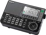 Sangean ATS-909X ワールドバンド 短波ラジオ 日本語説明書 AC100Vアダプター 黒色
