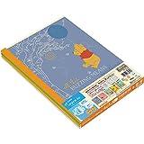 ナカバヤシ ロジカルエアーノート 5冊パック セミB5 A罫 くまのプーさん ノS-142A-5P