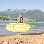 Lifetime 6 Foot Yellow Youth Kayak 16 Ergonomic cockpit design enhances balance and motor skills Molded finger handles on each side of the kayak Reverse chine for enhanced stability with swim-up step