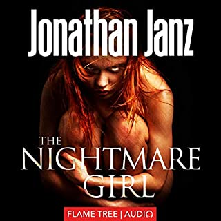 The Nightmare Girl audiobook cover art