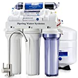 iSpring RCC7D 75GPD Under Sink 6-Stage Reverse Osmosis Drinking Water Filtration System