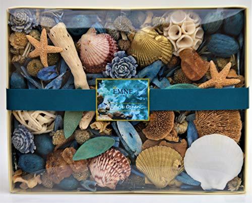 EMNE HOME Majestic Ocean Potpourri Box | Beautiful Nautical Botanicals | 12oz Box |Hand Made in The USA