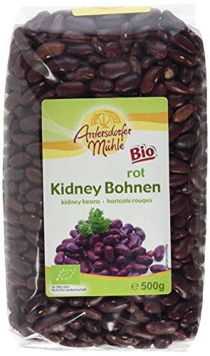 Antersdorfer Muehle Kidney Bohnen, 6er Pack (6 x 500 g) - Bio