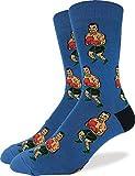 Good Luck Sock Men's Tyson Punch-Out!! Socks, Big & Tall