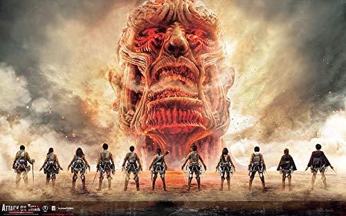 """Poster """"Attack On Titan Shingeki No Kyojin"""", 30,5 x 45,5 cm, multicolore"""