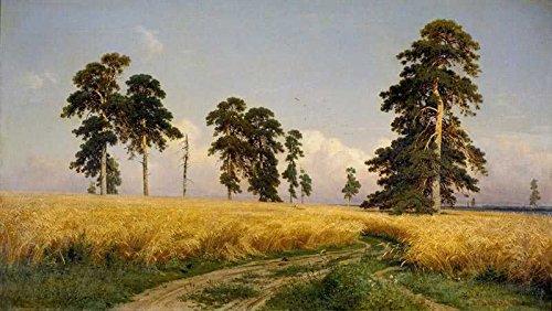 The Museum Outlet – Ivan Shishkin – Roggen – Posterdruck online (61 x 45,7 cm)